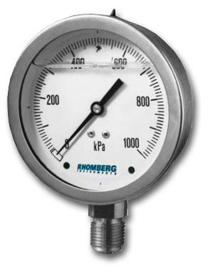 PBG Pressure Gauge from Rhomberg